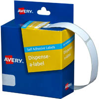 AVERY 937212 GENERAL USE LABELS 13 X 49MM WHITE BOX 550
