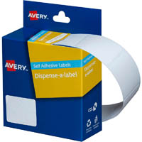 AVERY 937216 GENERAL USE LABELS 19 X 30MM WHITE BOX 550