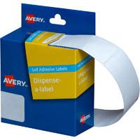 AVERY 937221 GENERAL USE LABELS 24 X 49MM WHITE BOX 325