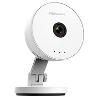 FOSCAM C1 LITE INDOOR HD WIRELESS SURVEILLANCE CAMERA WHITE