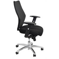 INITIATIVE EXECUTIVE CHAIR MESH BACK BLACK