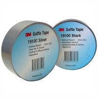 3M 1910C GAFFA TAPE CLOTH 48MM X 10M SILVER