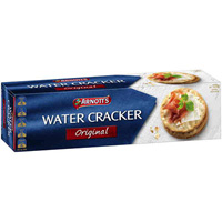 ARNOTTS WATER CRACKERS ORIGINAL 125G