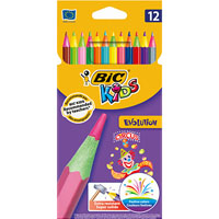BIC KIDS EVOLUTION CIRCUS COLOURING PENCILS PACK 12