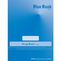 BLUE BOOK SCRAPBOOK 70 GSM 72 PAGE