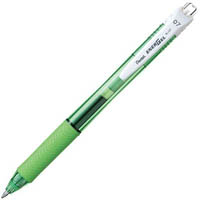 PENTEL BL107 ENERGEL-X RETRACTABLE GEL INK PEN 0.7MM GREEN