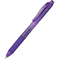 PENTEL BL107 ENERGEL-X RETRACTABLE GEL INK PEN 0.7MM VIOLET
