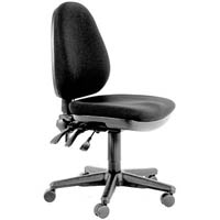 BURO VERVE HIGH BACK CHAIR JETT BLACK