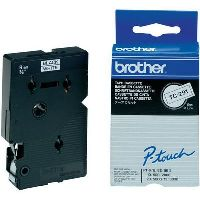 BROTHER TC-291 LABEL TAPE 9MM BLACK ON WHITE