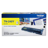 BROTHER TN-240Y LASER TONER CARTRIDGE YELLOW