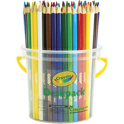 Image for CRAYOLA TRIANGULAR COLOURED PENCILS 3.3MM ASSORTED CLASSPACK 48 from Our Town & Country Office National