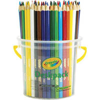 CRAYOLA TRIANGULAR COLOURED PENCILS 3.3MM ASSORTED CLASSPACK 48