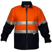 PRIME MOVER MW028 BLUEY JACKET WOOL BLEND WITH ZIP CLOSURE 2 TONE