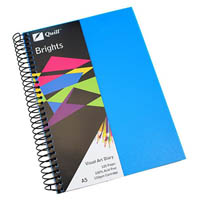 QUILL VISUAL ART DIARY 110GSM 120 PAGE A5 PP MARINE BLUE