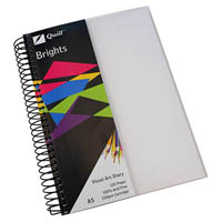 QUILL VISUAL ART DIARY 110GSM 120 PAGE A5 PP FROST