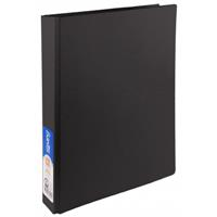 BANTEX STANDARD RING BINDER 2D 25MM A4 BLACK