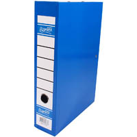 BANTEX BOX FILE FOOLSCAP BLUEBERRY