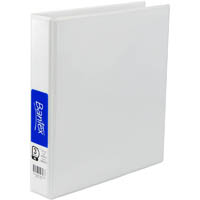 BANTEX INSERT RING BINDER 3D 25MM A5 WHITE
