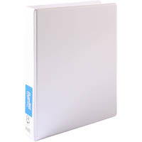 BANTEX INSERT RING BINDER 4D 25MM A4 WHITE