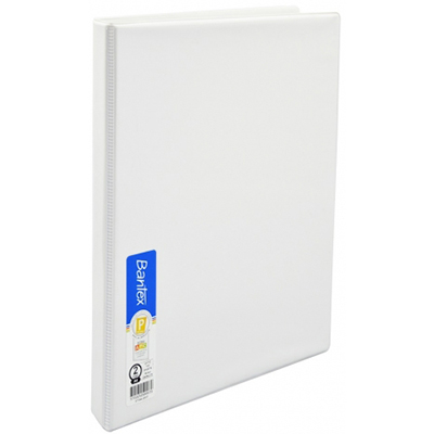 bantex insert ring binder 2d 16mm a4 white office national