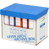 BANTEX STRONG LEVER ARCH ARCHIVE BOX A4