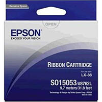 EPSON C13S015053 RIBBON CARTRIDGE BLACK