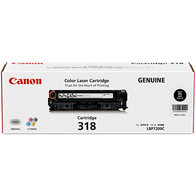 CANON CART318BK TONER CARTRIDGE BLACK
