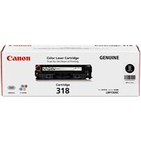 CANON CART318BK LASER TONER CARTRIDGE BLACK