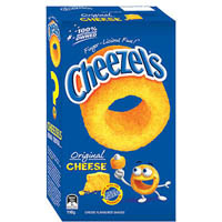 CHEEZELS ORIGINAL BOX 125GM