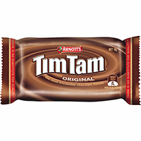 ARNOTTS TIM TAM CHOCOLATE BISCUITS PORTION SIZE CARTON 150