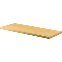 RAPID WORKER BOOKCASE SHELF 900 X 300 X 25MM BEECH/IRONSTONE