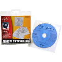 AURORA CD SLEEVE SELF ADHESIVE PACK 10