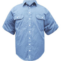 PRIME MOVER MS869 SHIRT BLUE