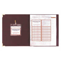 ZIONS CSPR-K CONTRACTORS SITE PASS REGISTER KIT