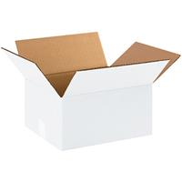 CUMBERLAND SHIPPING BOX REGULAR 420 X 400 X 300MM WHITE PACK 25