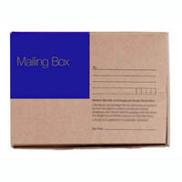 CUMBERLAND MAILING BOX 405 X 300 X 255MM BROWN PACK 25