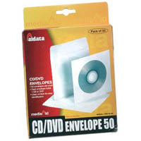 AURORA CD PAPER ENVELOPES PACK 50