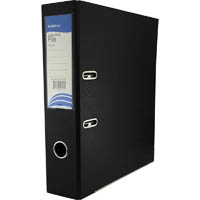 INITIATIVE LEVER ARCH FILE PP A4 BLACK