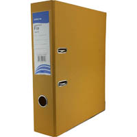INITIATIVE LEVER ARCH FILE PP A4 YELLOW