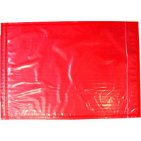 CUMBERLAND PACKAGING ENVELOPE PLAIN RED BACK 235 X 175MM PACK 1000
