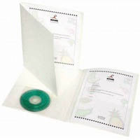 CUMBERLAND DURABLE PRESENTATION FILE WITH CD POCKET A4 PACK 5
