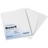 COLOURFUL DAYS WHITE PASTEBOARD 425GSM A4 PACK 50