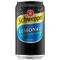 SCHWEPPES LEMONADE CAN 375ML CARTON 24
