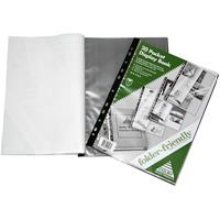 COLBY FOLDER FRIENDLY DISPLAY BOOK 20 PAGE CAPACITY A4 BLACK