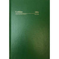 COLLINS 2018-2019 FINANCIAL YEAR DIARY DAY TO PAGE A5 GREEN