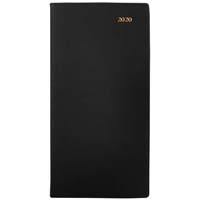 COLLINS 2020 BELMONT POCKET DIARY WEEK TO VIEW 1 HOURLY B6/7 BLACK