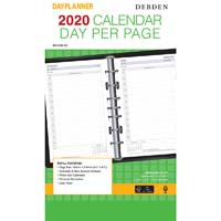 DEBDEN 2020 DAYPLANNER DESK EDITION REFILL DAY TO PAGE