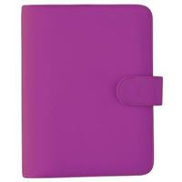 DEBDEN PERSONAL DAYPLANNER PU SNAP CLOSURE 172 X 96MM PURPLE