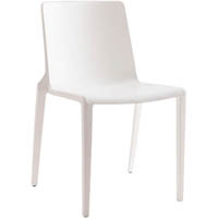 BURO MEG VISITOR CHAIR STACKABLE WHITE