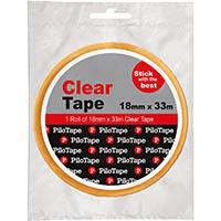PILOTAPE PREMIUM STATIONERY TAPE 18X33M